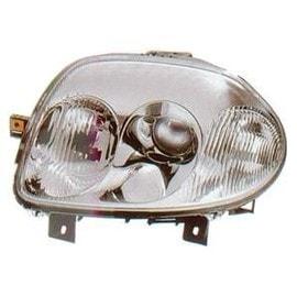 phare optique avant droit pour renault clio 2 phase 1 1998 2001 hb3 h7 neuf. Black Bedroom Furniture Sets. Home Design Ideas