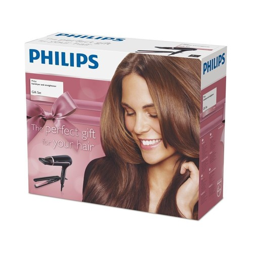 philips hp8640 40 pack s che cheveux thermoprotect lisseur essential care. Black Bedroom Furniture Sets. Home Design Ideas