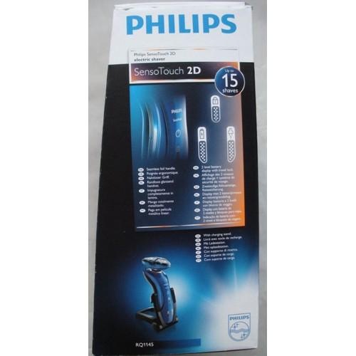 philips sensotouch rq1145 rasoir sans fil bleu pas cher. Black Bedroom Furniture Sets. Home Design Ideas