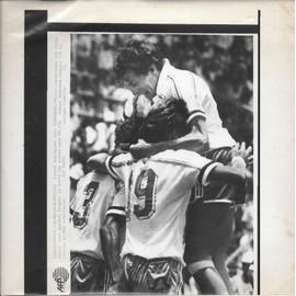 Photo Fax Afp - Luis Fernandez (Coupe Du Monde 1986 Au Mexique) - 9 Juin 1986. France-Hongrie