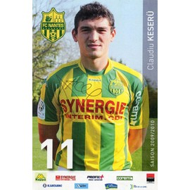 Photo Football Nantes Claudius Keseru Signature Authentique Du Joueur