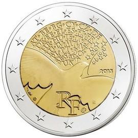 8411a1e907 Pièce 2 Euro Commémorative France 2015 - 70° Anniversaire De La Paix Et  Sécurité En Europe