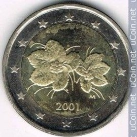 Piece 2 Euro Finlande 2001 Achat Vente De Numismatique Rakuten