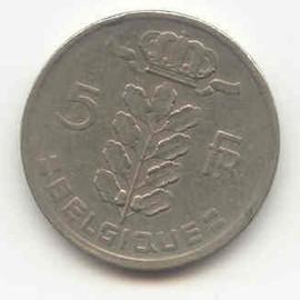 pi ce 5 francs belge 1949 achat vente de numismatique rakuten. Black Bedroom Furniture Sets. Home Design Ideas