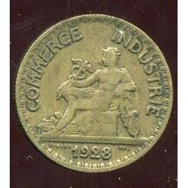 Pi ce 50 centimes chambre de commerce industrie 1928 achat et vente - Chambre de commerce porte de champerret ...