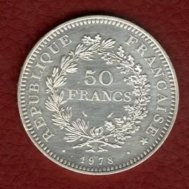 Pièce 50 Francs Argent Hercule 1978 - Achat et vente - Rakuten 0ec2eb356c70