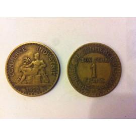 Pi�ce Bon Pour 1 Franc - Chambre De Commerce Et D'industrie - 1922