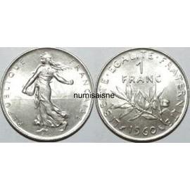 Piece De 1 Franc Semeuse 1960 Achat Vente De Numismatique Rakuten