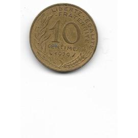 Pi�ce De 10 Centimes Marianne 1979