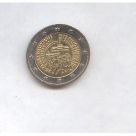 Piece De 2 Euro Commémorative Allemagne 2015 G 25 Jahre Deutsche