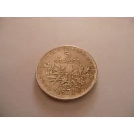 Pi�ce De 5 Francs De 1971