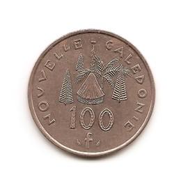 Piece De Cent Francs 1987 De La Nouvelle Cal�donie