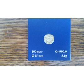 Piece 100 Euros Or 2008