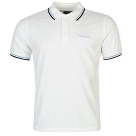3136d185725 Pierre Cardin Polo T-Shirt Classique Top Manche Courte Hommes