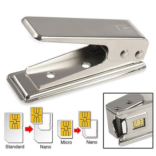 Coupeur d coupeur cutter cutteur de carte sim standard vers carte sim nano pour iphone 5 5c 5s - Couper une micro sim en nano sim ...