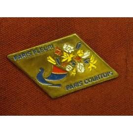 Pins Paris Fleuri, Paris Courtois