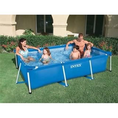 piscine hors sol metal frame junior rect pas cher. Black Bedroom Furniture Sets. Home Design Ideas