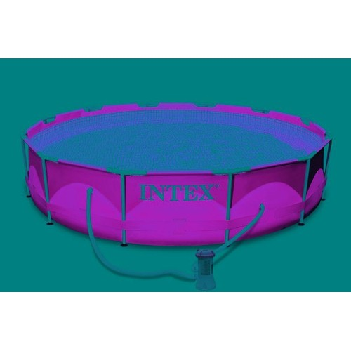 piscine tubulaire intex metalframe x m pas cher. Black Bedroom Furniture Sets. Home Design Ideas