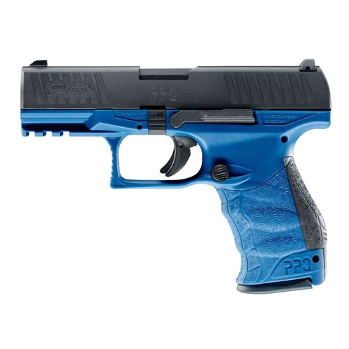 pistolet a bille walther ppq umarex gaz blowback bleu et noir semi auto 1 joule pg2049 26349 airsoft. Black Bedroom Furniture Sets. Home Design Ideas
