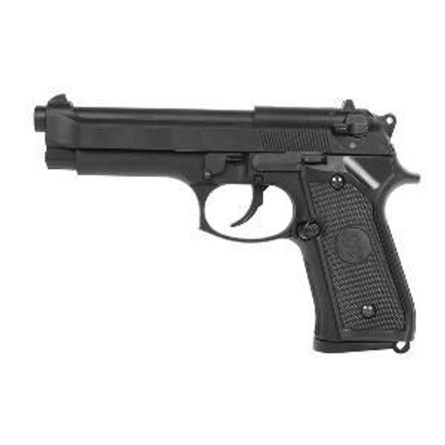 pistolet a billes m92f m9 kj works co2 blowback full metal noir semi auto hop up joule. Black Bedroom Furniture Sets. Home Design Ideas