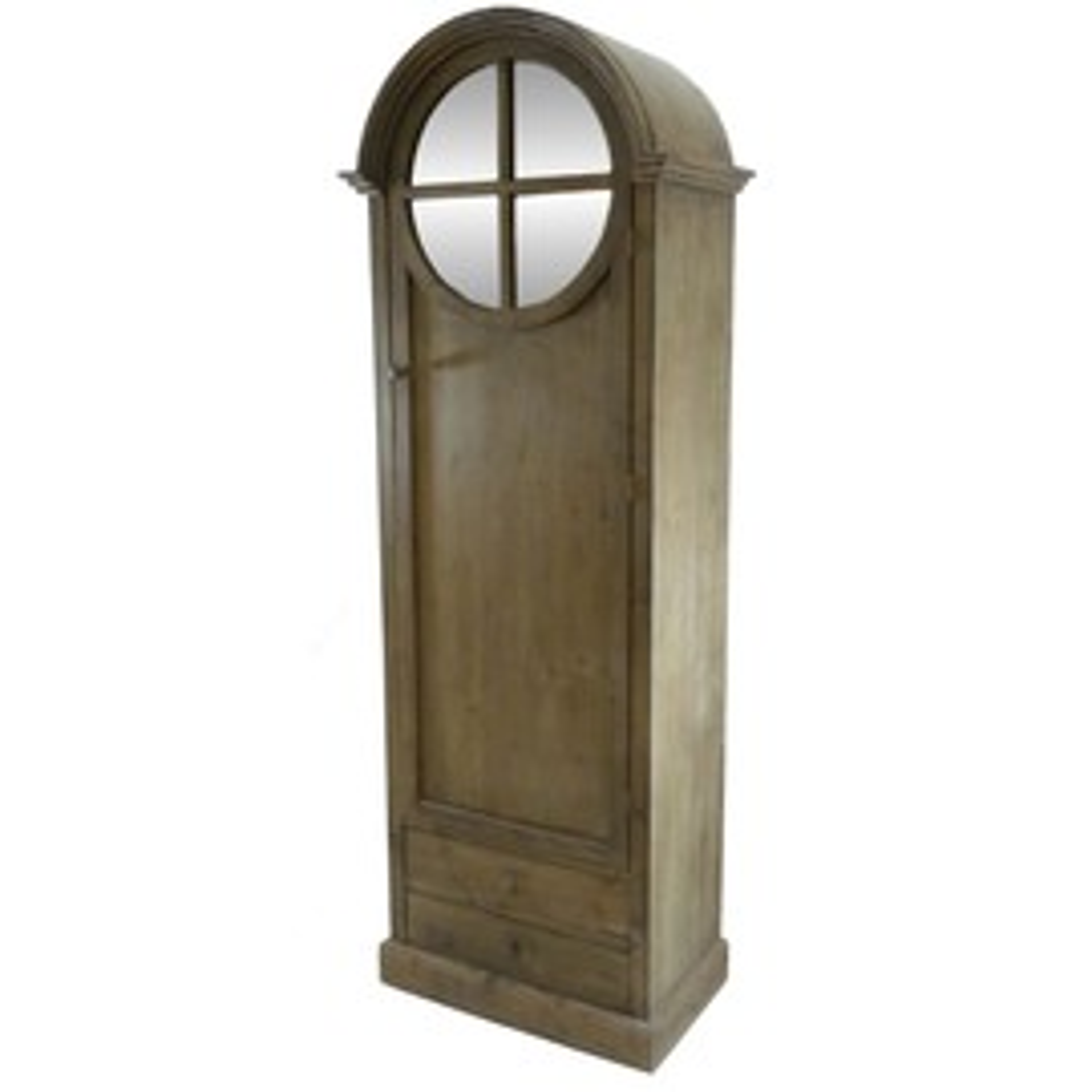 placard armoire de charme oeil de boeuf miroir rangement meuble pour vetements linge de maison. Black Bedroom Furniture Sets. Home Design Ideas