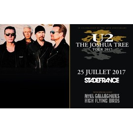 Petite annonce Place De Concert U2 - The Joshua Tree Tour 2017 - Stade De France - 25/07/17 - 62000 ARRAS