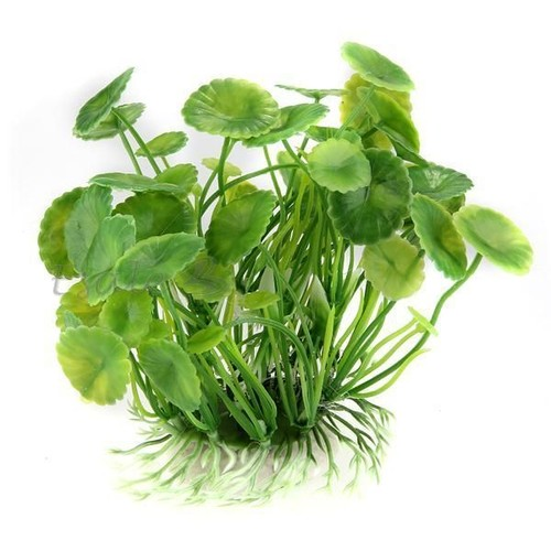 Plante feuilles de lotus artificielle aquatique en for Plante 5 feuilles