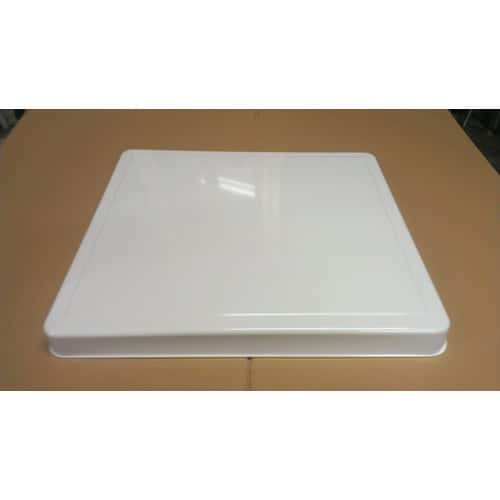 plaque de protection pour feux gaz blanche achat et. Black Bedroom Furniture Sets. Home Design Ideas