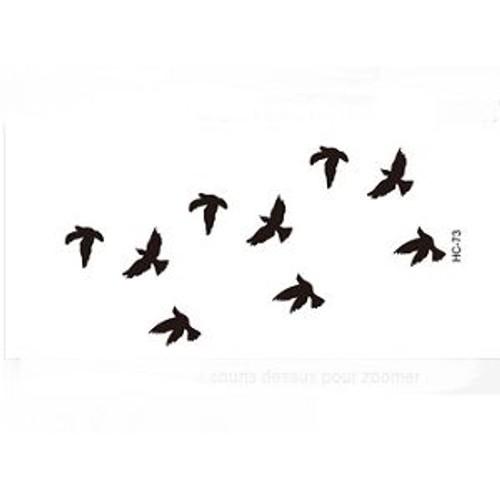 plaque de tatouage temporaire oiseaux neuve achat et vente. Black Bedroom Furniture Sets. Home Design Ideas