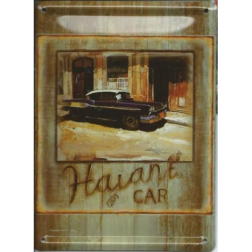plaque en metal avec aimant collector retro voiture ancienne 11 cm x 8 cm. Black Bedroom Furniture Sets. Home Design Ideas
