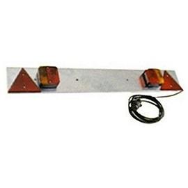 plaque galvanis e pour remorque 1m rampe feux achat et vente. Black Bedroom Furniture Sets. Home Design Ideas