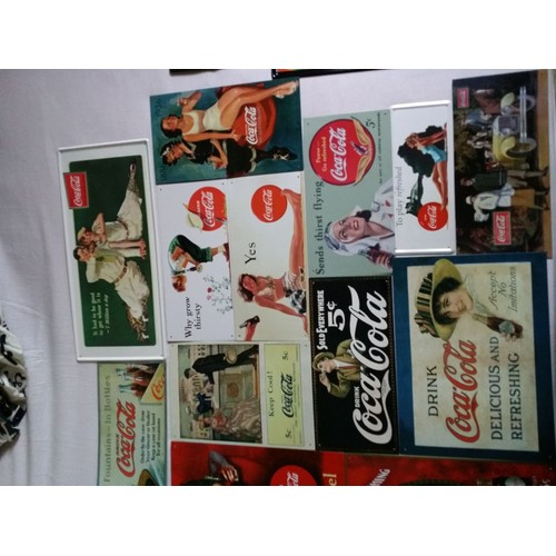 plaques coca cola collection deco neuf et d 39 occasion priceminister rakuten. Black Bedroom Furniture Sets. Home Design Ideas