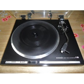 platine tourne disques vinyle vintage pioneer pl200x hifi pas cher. Black Bedroom Furniture Sets. Home Design Ideas