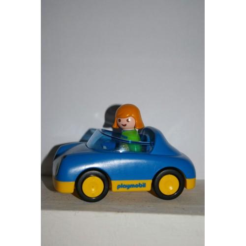 playmobil 123 voiture bleue achat vente de jouet priceminister rakuten. Black Bedroom Furniture Sets. Home Design Ideas