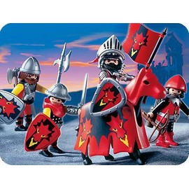 playmobil 3319 chevaliers dragon rouge playmobil