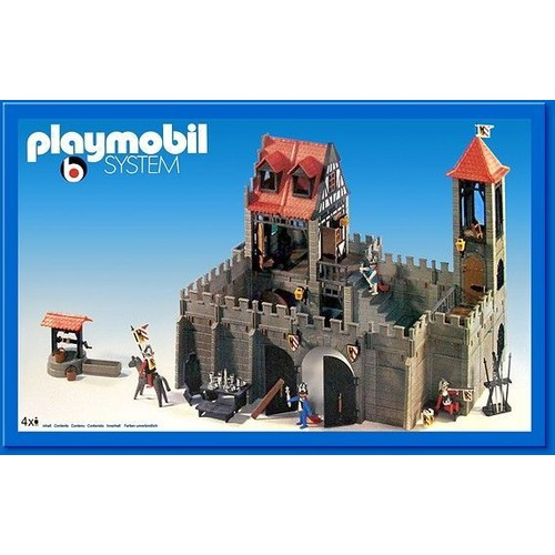 chateau playmobil awesome chteau fort playmobil en gteaux. Black Bedroom Furniture Sets. Home Design Ideas