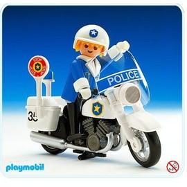 Playmobil 3564 policier moto achat et vente - Playmobile policier ...