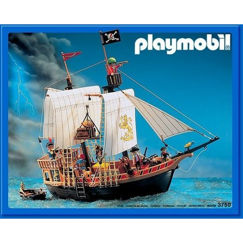 playmobil 3750 bateau pirate achat vente de jouet priceminister rakuten. Black Bedroom Furniture Sets. Home Design Ideas