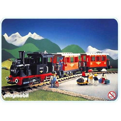Playmobil 4001 train voyageur sans transformateur achat - Train playmobil ...