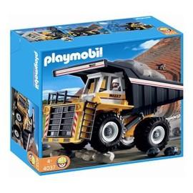 Playmobil 4037 tombereau g ant camion chantier achat - Playmobil camion chantier ...