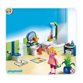 Playmobil 4285 salle de bains achat et vente for Salle bain playmobil