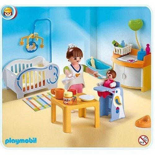 Playmobil 4286 la chambre de b b achat et vente for La chambre de bebe