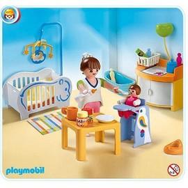 playmobil 4286 la chambre de b b achat et vente priceminister rakuten. Black Bedroom Furniture Sets. Home Design Ideas