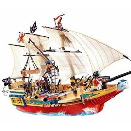 playmobil 4290 grand bateau camouflage des pirates. Black Bedroom Furniture Sets. Home Design Ideas