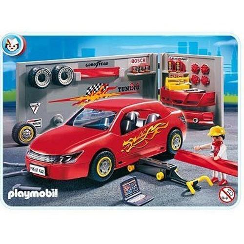 Playmobil 4321 voiture avec atelier tuning achat et vente for Garage voiture occasion avec facilite de paiement