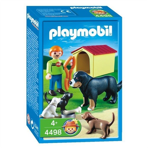 playmobil 4498 enfant famille de chiens achat et vente. Black Bedroom Furniture Sets. Home Design Ideas