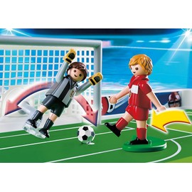 playmobil 4725 terrain de football et joueurs playmobil