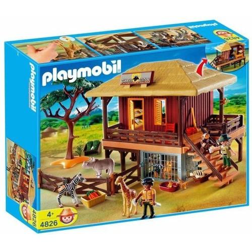 Playmobil 4826 Centre De Soins Pour Animaux Sauvages Rakuten