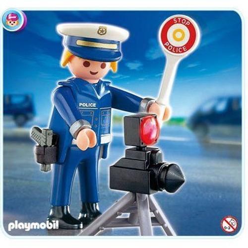 playmobil 4902 - Policier Playmobil