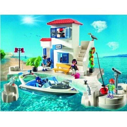 playmobil 5128 police du port et bateau rapide neuf et d 39 occasion. Black Bedroom Furniture Sets. Home Design Ideas